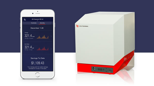 Model 3 Tankless Electric Water Heater App Connected Crib