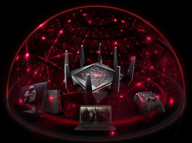 Asus Rog Rapture Gt Ac5300 Tri Band Gaming Router
