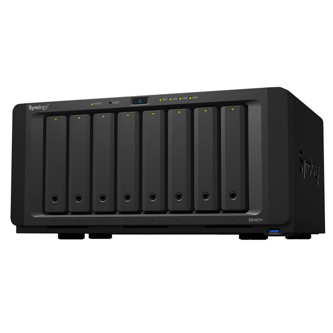 Synology Ds1817 8 Bay Nas Station Connected Crib
