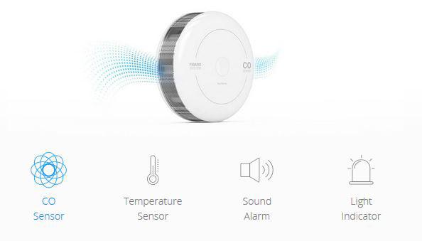 fibaro co sensor with homekit