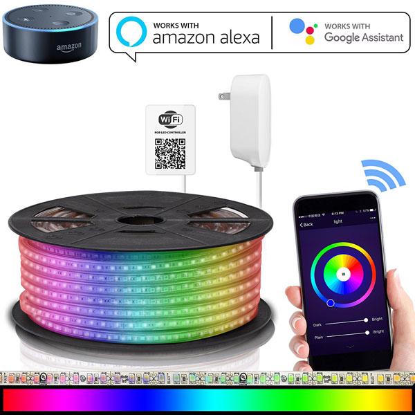 Maxonar Led Strip Light With Alexa Connected Crib