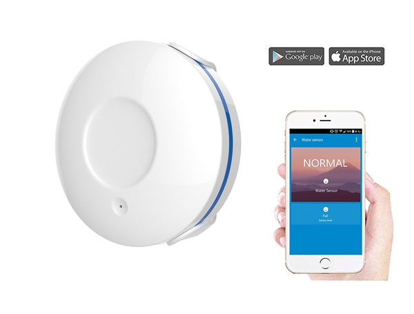 Wasserstein Wifi Water Sensor Detects Leaks Connected Crib