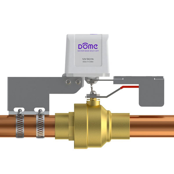 Dome Home Automation Z Wave Water Shut Off Valve