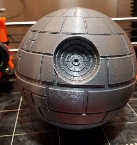 Death Star Raspberry Pi Case Connected Crib